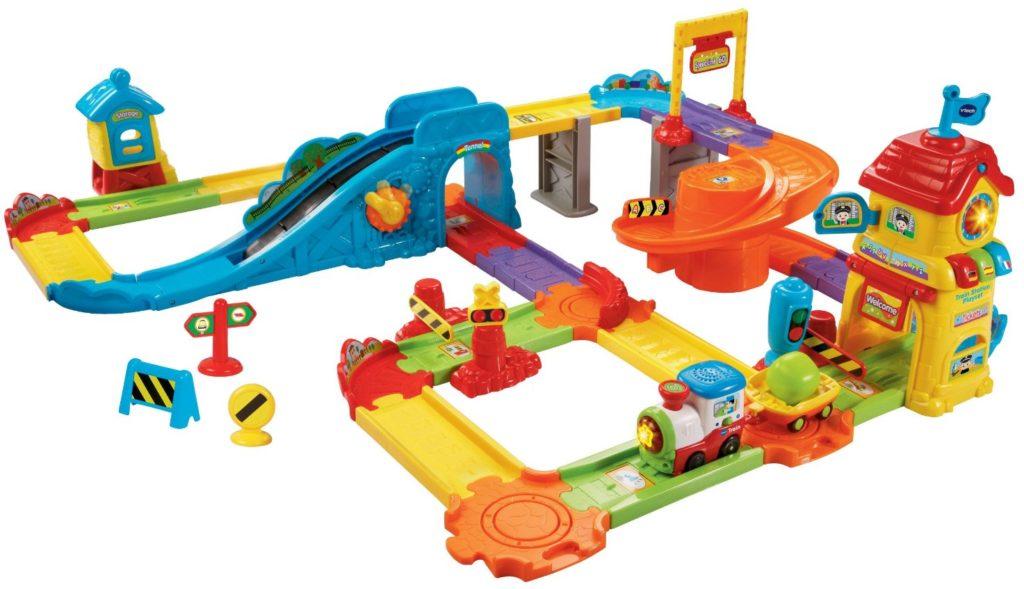 VTech 80-146700 Go! Go! Smart Wheels Train Station Playset - train sets for kids