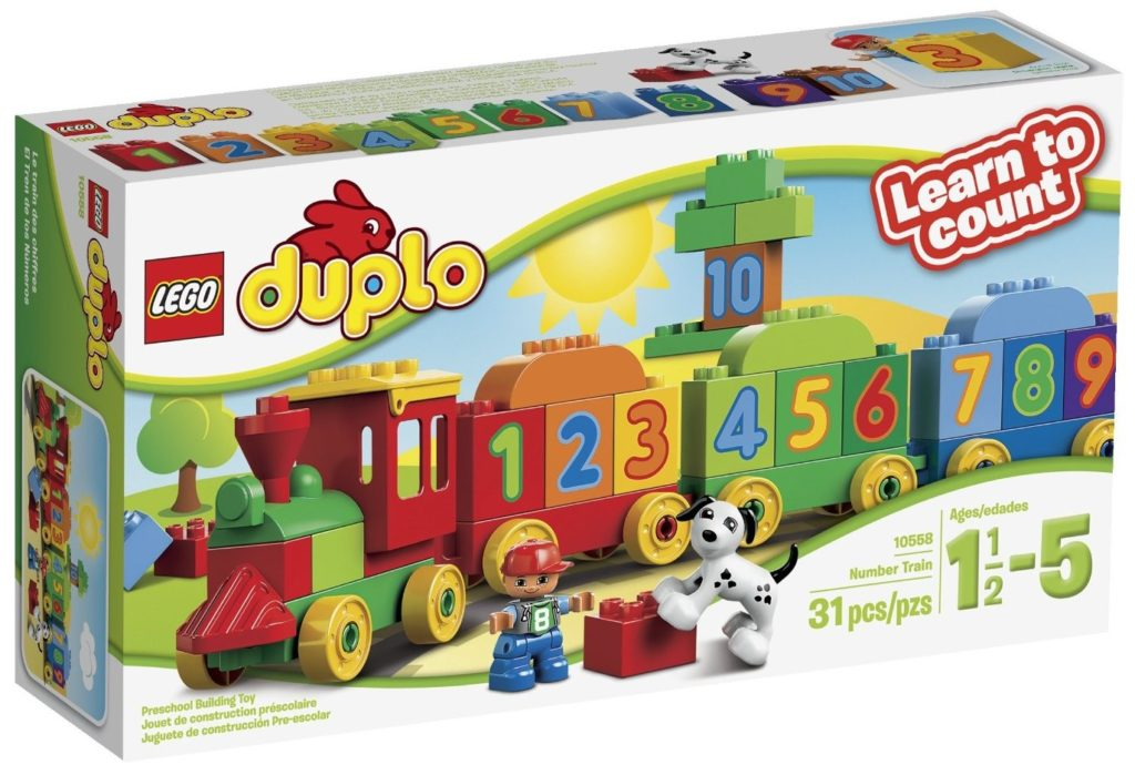 LEGO DUPLO My First Number Train Building Set - train sets for kids
