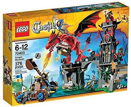 LEGO Castle Dragon Mountain - Dragon toy for kids