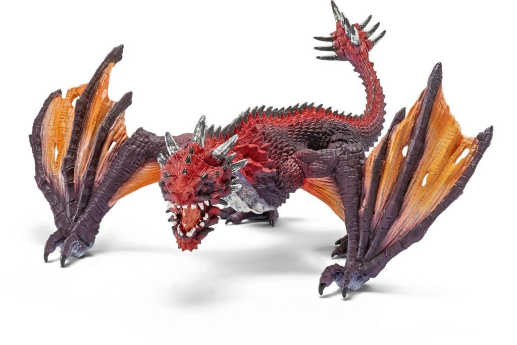 Schleich Dragon Fighter - Dragon Toys for Kids