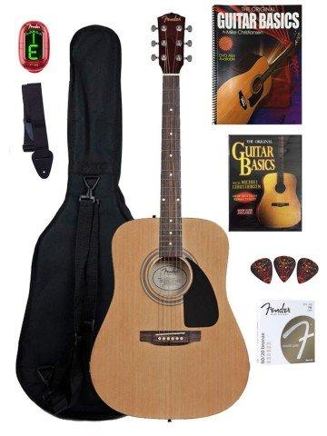 Fender Beginner Acoustic Guitar - guitars for kids