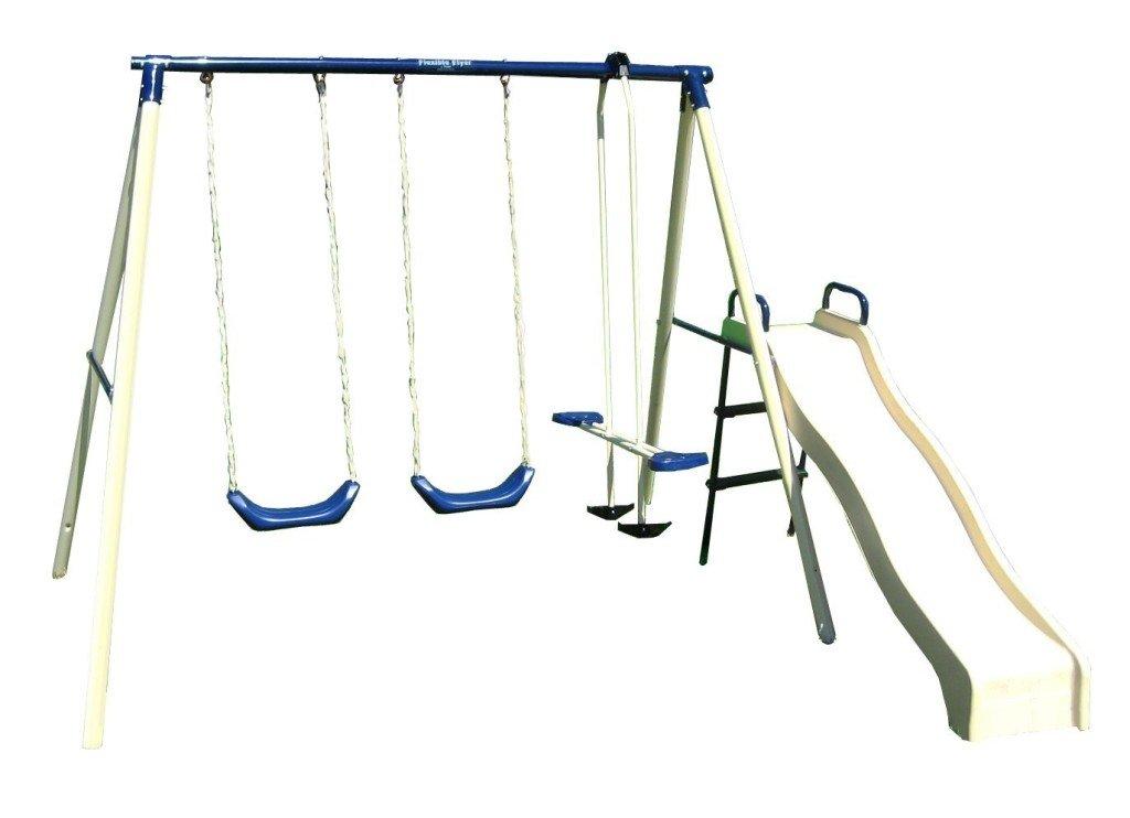flexible flyer swing n glide iii swing set swing sets