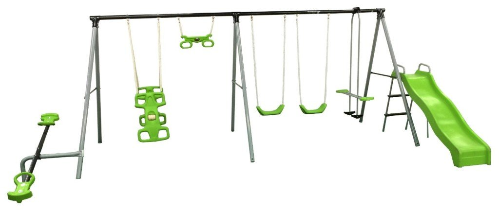 """Flexible Flyer """"World Of Fun"""" Swing Set - swing sets"""