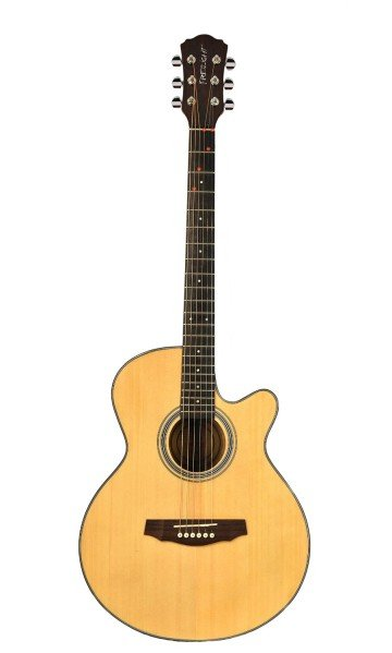 Fretlight 5® Acoustic Guitar with Built-in LED Lighted Learning System - guitars for kids