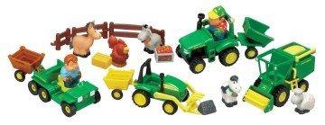Ertl John Deere Fun On The Farm Playset - farm toys