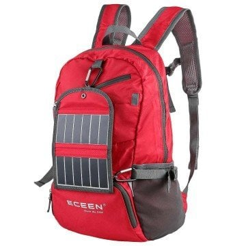 ECEEN® Solar Powered Hiking Daypacks - backpacks for teens
