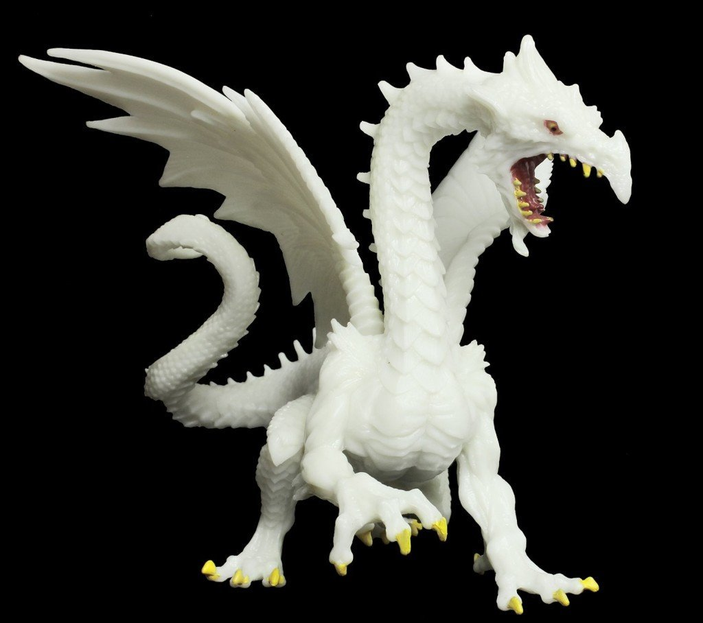 Glow-in-the-Dark Snow dragon - Dragon Toy for Kids