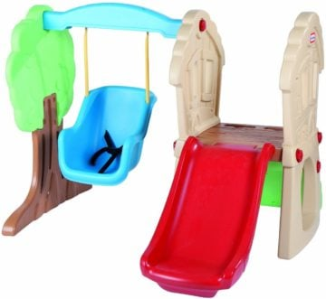 Little Tikes Hide and Seek Climber and Swing - swing sets