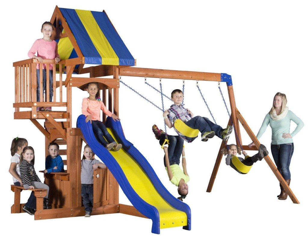 9 of the best swing sets for active outdoor and backyard fun