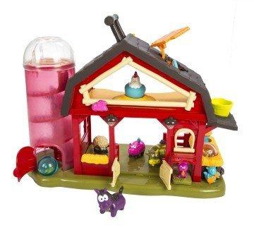 Baa-Baa-Barn Farm House - farm toys