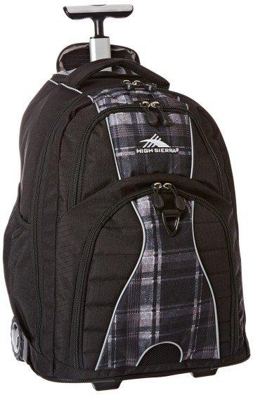 High Sierra Freewheel Wheeled Book Bag Backpack - school backpacks