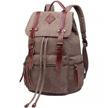 Image of BeautyWill School Backpack Vintage Rucksack