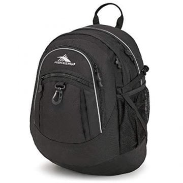 Image of High Sierra Fatboy Backpack with mulitple pockets