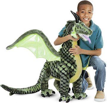Image Of Melissa And Doug Lifelike Plush Giant Winged Dargon Stuffed Animal
