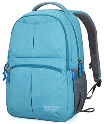 Bolang Fashionable Lightweight Water Resistant Nylon Backpack - backpacks for teens