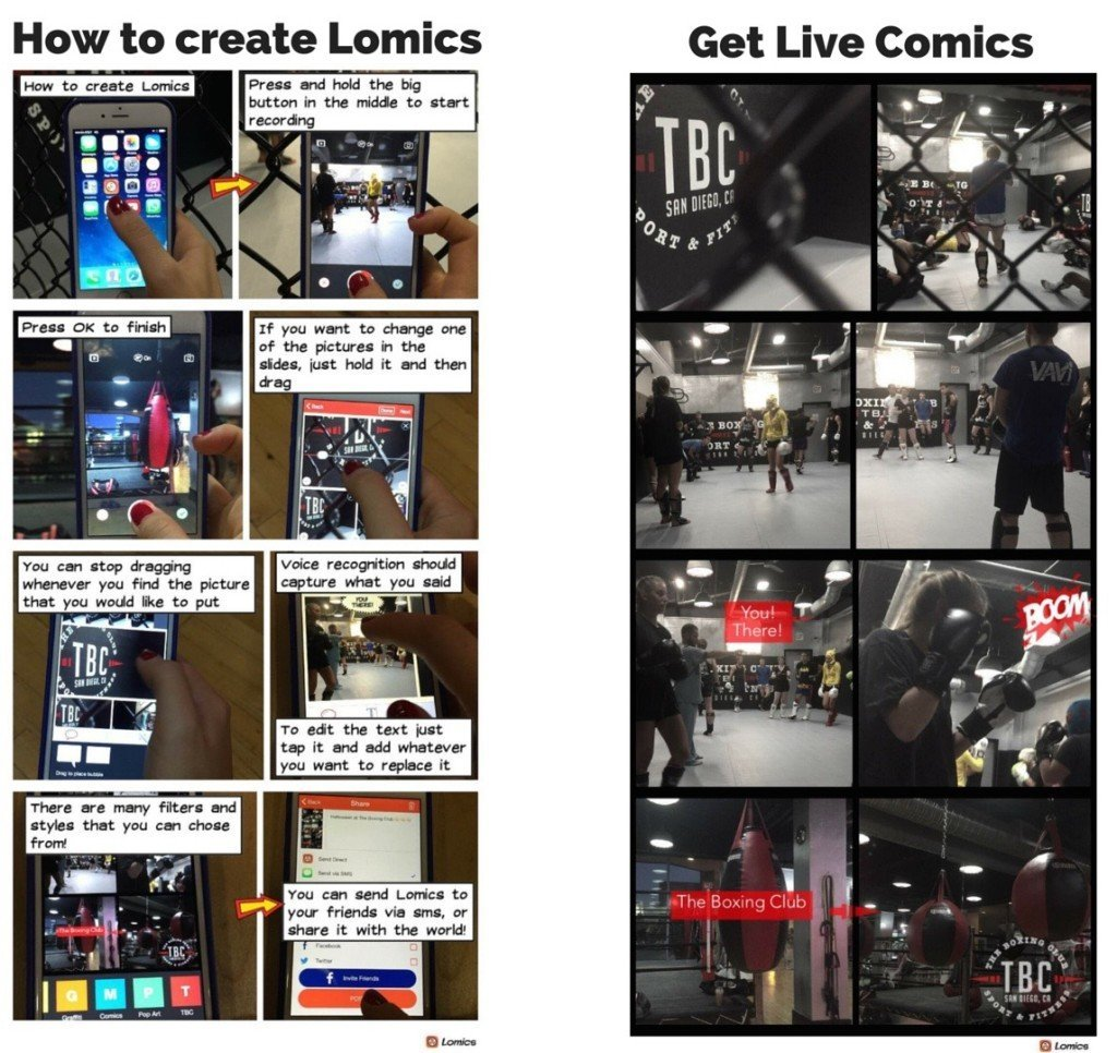 Lomics - How to