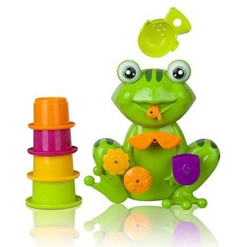 Interactive Frog Bath Toy for Toddlers - bath games
