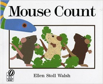 Mouse Count - counting books