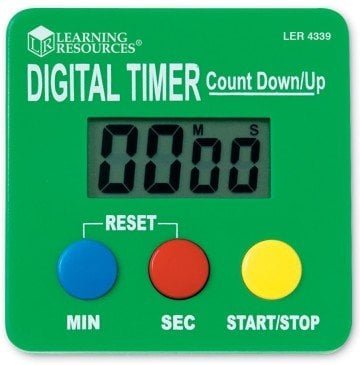 Learning Resources Digital Timer - classroom timers