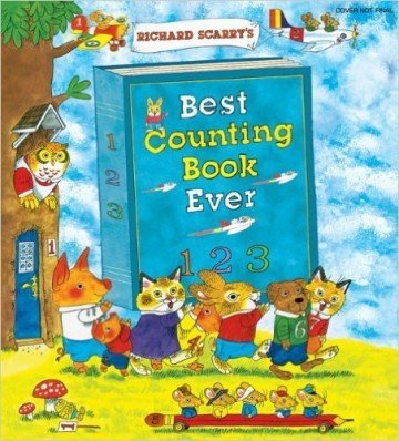 Richard Scarry's Best Counting Book Ever - counting books