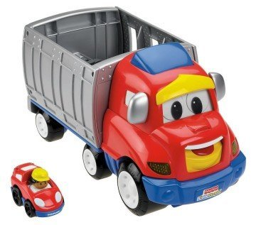 Fisher-Price Little People Wheelies Zig The Big Rig - semi truck toys