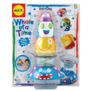 ALEX Toys Rub a Dub Whale of a Time - math games