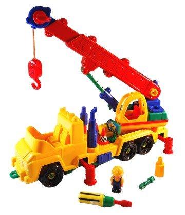 Take A Part Super Crane Truck - semi truck toys