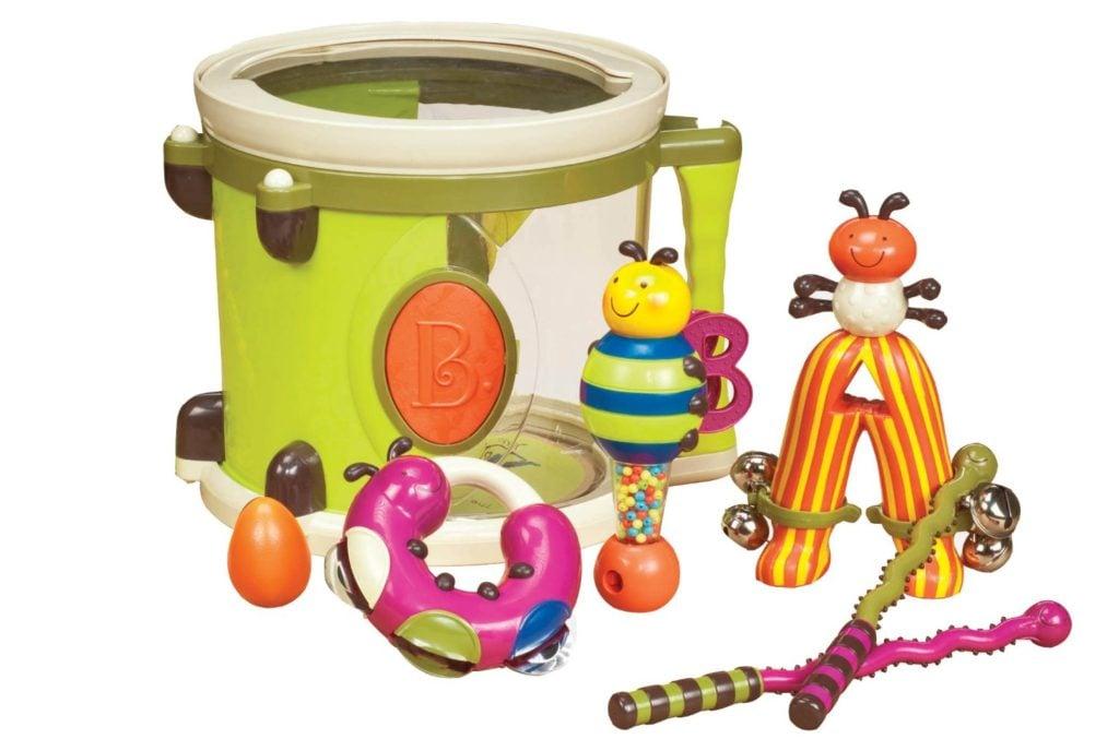 B. Toys Parum Pum Pum Drum musical instruments for kids
