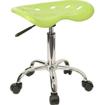 Flash Furniture Adjustable Height Task Stool with Tractor Seat