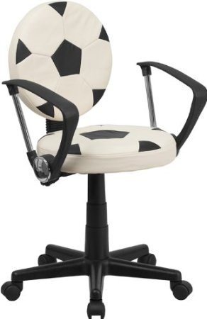 Flash Furniture Soccer Task Chair with Arms  sc 1 st  Fractus Learning & 9 of the Best Kids Desk Chairs for Homework School and Play islam-shia.org