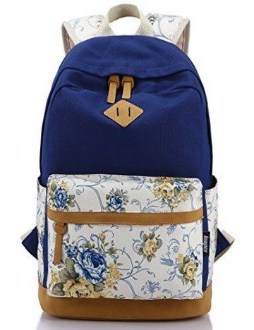 Leaper Canvas Backpack and Book Bag