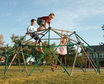 Lifetime Geometric Dome Climber Play Center Backyard Playsets