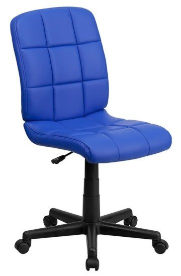 Offex Mid-back Quilted Vinyl Task Chair