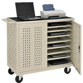 Mobile Storage & Charging Cart - laptop cart