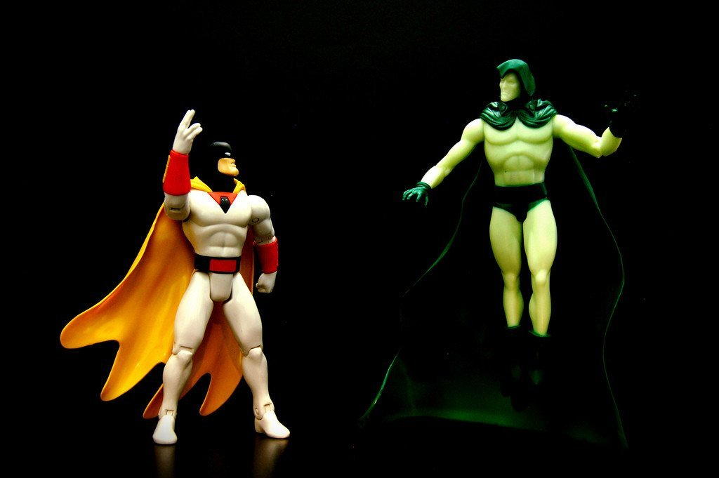 Space Ghost vs. The Spectre