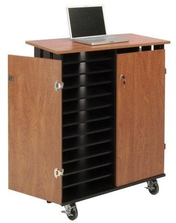 Oklahoma Sound LCSC Laptop Charging and Storage Cart - laptop cart