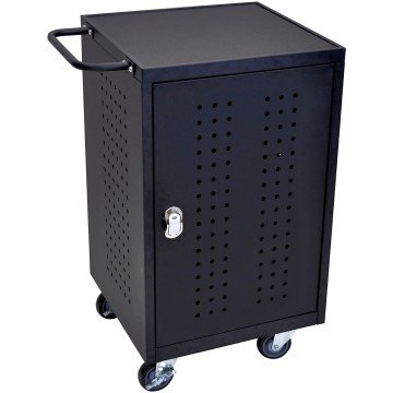 LUXOR LLTM30-B-RFID Tablet Computer Charging Station - iPad cart