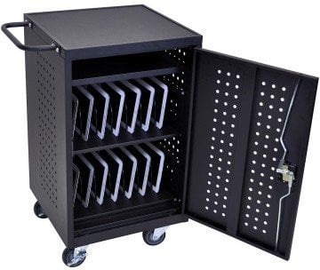 Luxor Mobile Home Office Tablet Charging Station - iPad cart