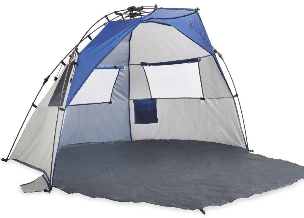 lightspeed outdoors quick cabana beach tent sun shelter - U Shape Canopy 2016