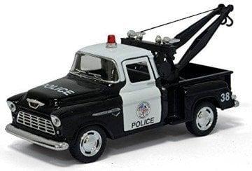 Kinsmart 1955 Chevy Stepside Pick-up Tow Truck