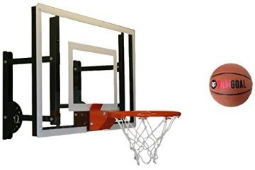 RAMgoal Durable Adjustable Mini Indoor Basketball Hoop and Ball