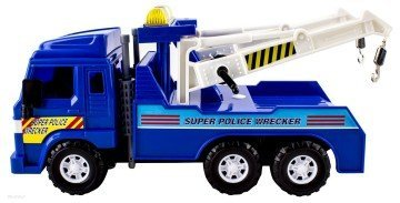 WolVol Wrecker Tow Truck Police Toy