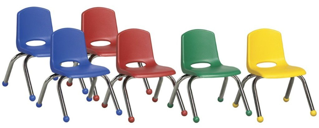 ECR4Kids School Stack Chair