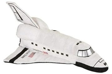 "14"" Plush Space Shuttle Toy"
