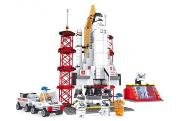 Ausini F25806 Space Shuttle Launching Base Construction Brick Set