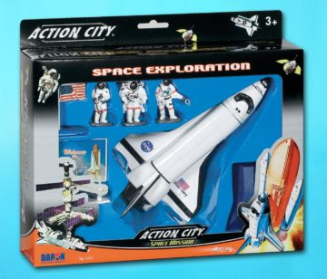 Daron Space Shuttle 7-Piece Playset