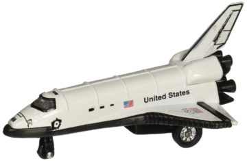 "DieCast 5"" Space Shuttle Pullback Toy"