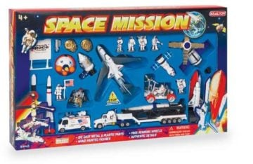 Space Shuttle with Kennedy Space Centre Sign 28-Piece Set