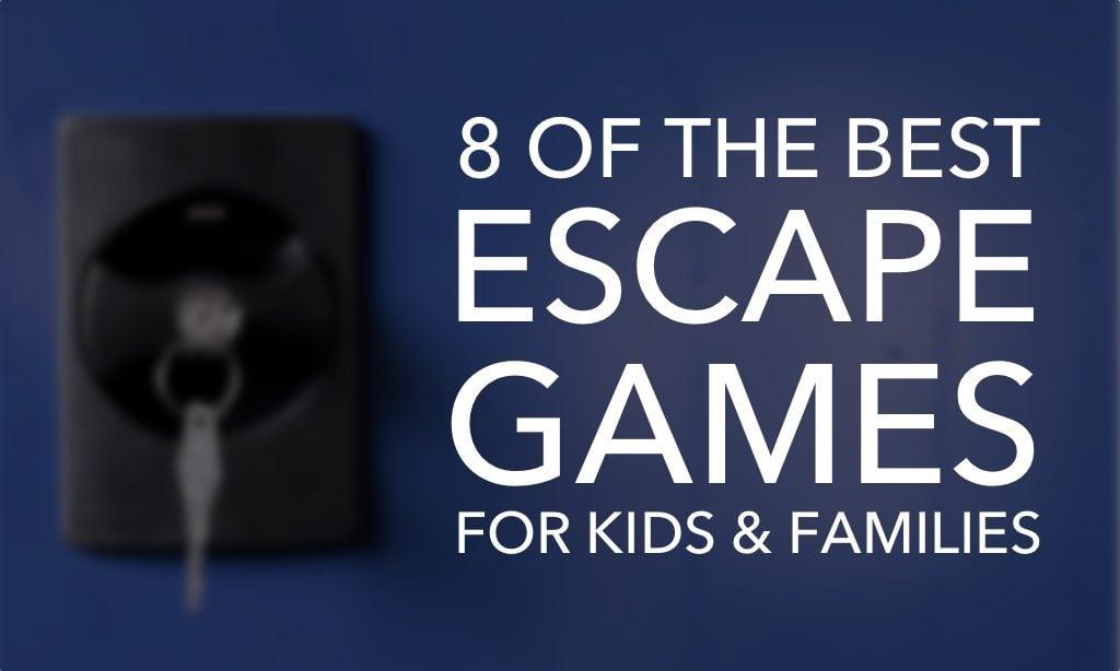 8 Adventurous Escape Games for Kids and Families