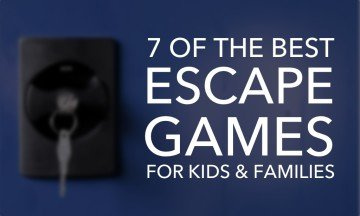 7 Adventurous Escape Games for Kids and Families